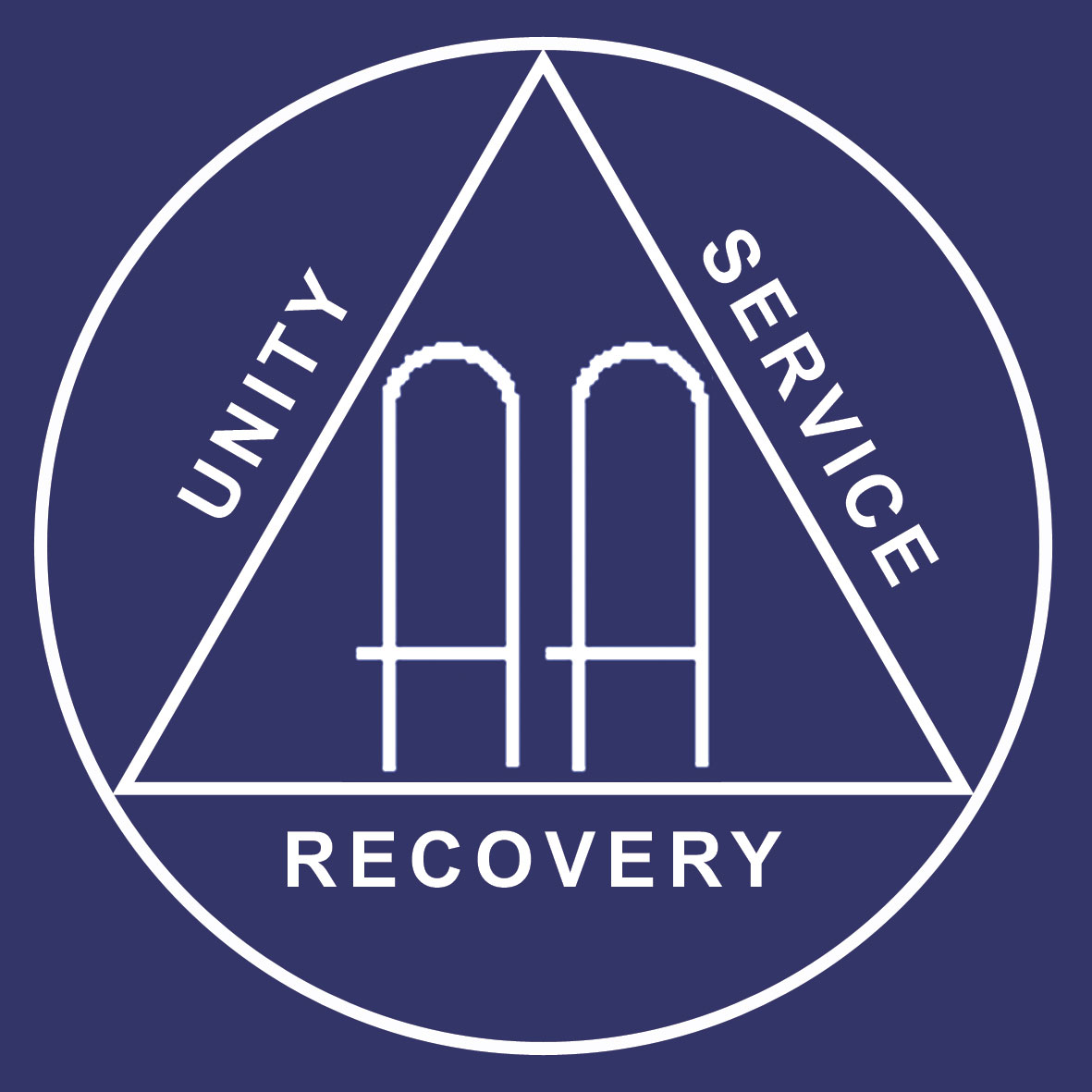 Image result for Alcoholics Anon charity logo